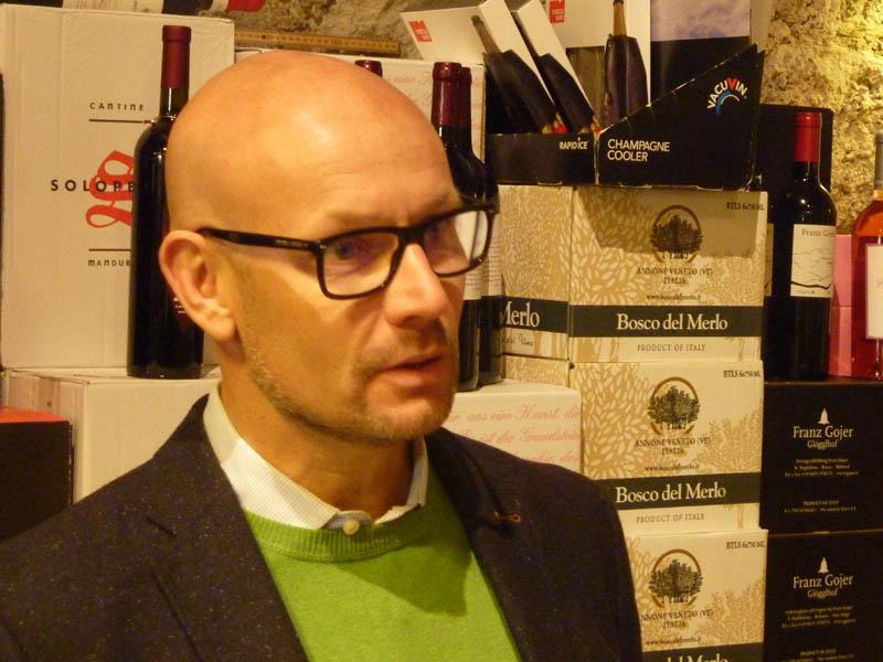 Weingut Jurtschitsch, Präsentation Thomas Bergk