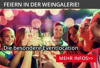 Feiern in der WeinGalerie